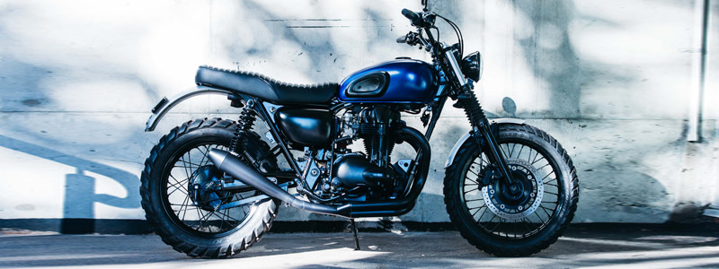 Motorcycles wallpapers Deus Ex Machina Midnight Rambler Kawasaki W650 2016 - Motorcycle wallpapers