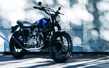 Wallpapers custom motorcycle Deus Ex Machina Midnight Rambler Kawasaki W650 2016