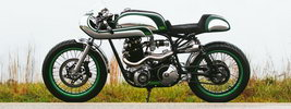 Fuller Moto Misty Green 2015 Norton Commando 750 1968