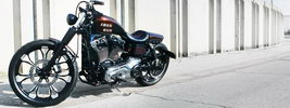 Iron Pirate Garage Iron Gun Harley Davidson Dyna 2014