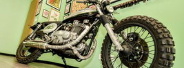 Iron Pirate Garage Scrambler Pirate Edition 2014 Kawasaki Z750 1976