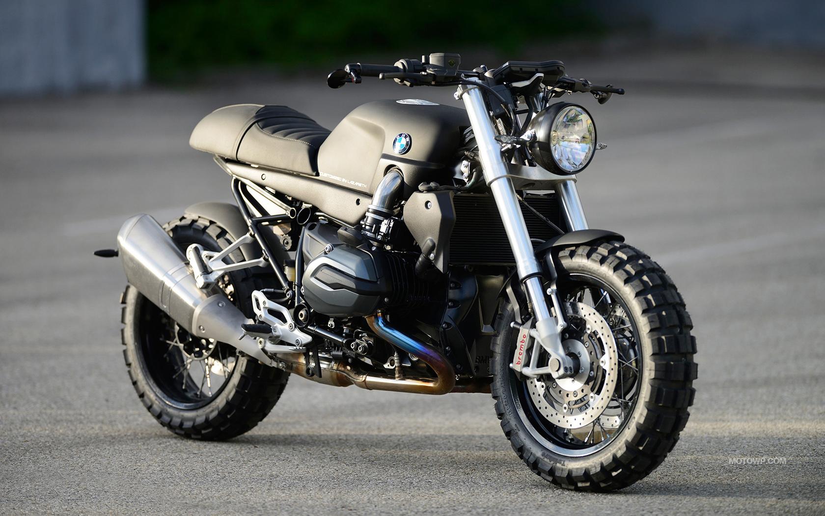 Custom motorcycle desktop wallpapers Lazareth BMW R1200R ...