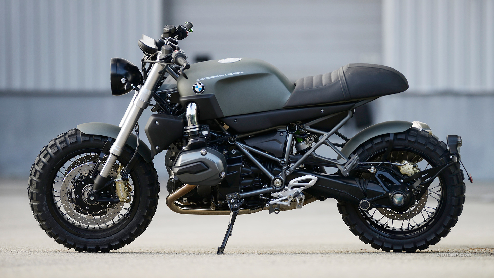 Custom Motorcycle Desktop Wallpapers Lazareth Bmw R1200r